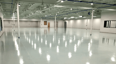 ESD Epoxy Floor with permanent static control properties