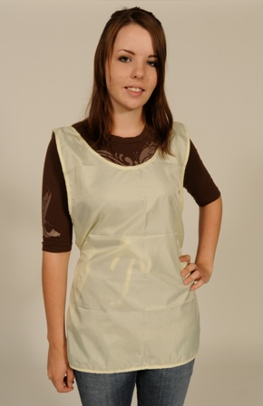 ESD Apron, shields static sensitive products