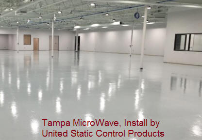 Tampa Microwave Install by United Static Control Products