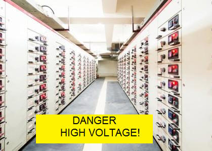 High Voltage Switchboard matting photo