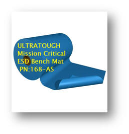 Mission Critical 3 Layer ESD Bench Mat