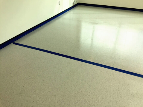 ElectraGlaze ESD floor finsh: Coat where shine is wanted and scuff marks aren�t!