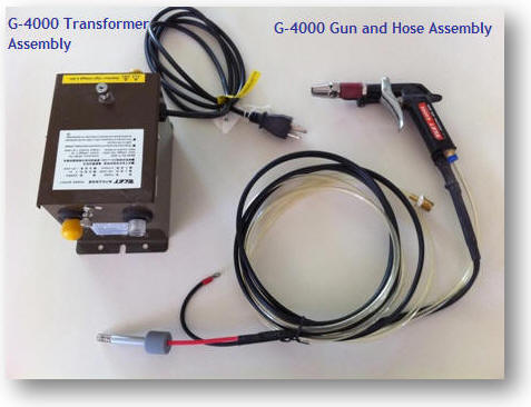 G-4000 Ionizing air blower for static control, power supply and gun assembly photo