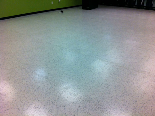 ESD Flooring OVER Standard Epoxy