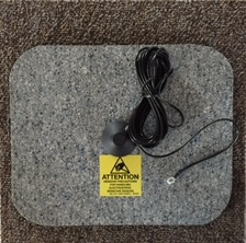 Place pad on carpet