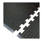 Type 180 AS Interlocking ESD floor tile photo - build your mat to ANY length!