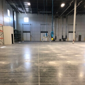 fill expansion joints, repair and prep concrete