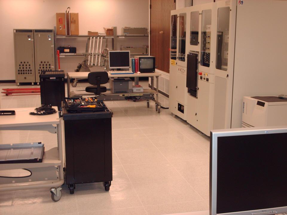 Heat Welding Esd Tile Seamless Static Control Floors