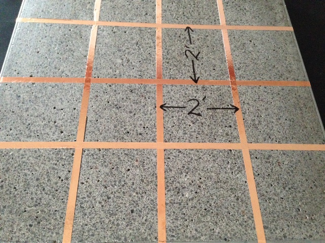 Anti Static Floor Grounding Ribbon : Peel and stick esd tile installation maintenance